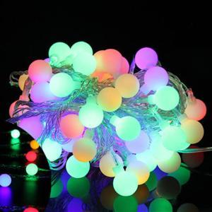 10M 100球 防水LEDボールストリング LEDイルミネーションライト パーティ イベント マルチカラーMIX-01