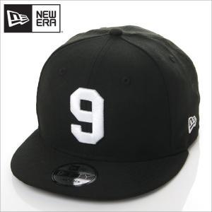 NEW ERA キャップ メンズ レディース ニューエラ スナップバック キャップ 数字 ナンバー 帽子 950 NUMBER CUSTOM 9 スナップバックキャップ ブラック 黒|richrush