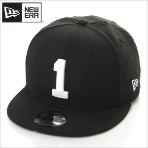 NEW ERA キャップ メンズ レディース ニューエラ スナップバック キャップ 数字 ナンバー 帽子 950 NUMBER CUSTOM 1 スナップバックキャップ ブラック 黒|richrush