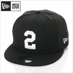NEW ERA キャップ メンズ レディース ニューエラ スナップバック キャップ 数字 ナンバー 帽子 950 NUMBER CUSTOM 2 スナップバックキャップ ブラック 黒|richrush