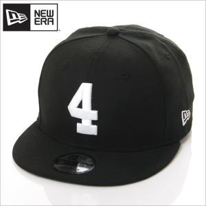 NEW ERA キャップ メンズ レディース ニューエラ スナップバック キャップ 数字 ナンバー 帽子 950 NUMBER CUSTOM 4 スナップバックキャップ ブラック 黒|richrush