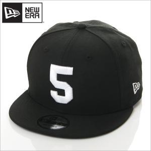 NEW ERA キャップ メンズ レディース ニューエラ スナップバック キャップ 数字 ナンバー 帽子 950 NUMBER CUSTOM 5 スナップバックキャップ ブラック 黒|richrush