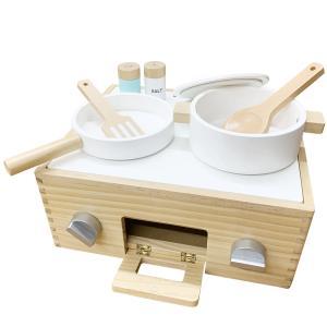 【訳あり品】 木製ままごと キッチン セット クッキング レンジ 送料無料|richsmile