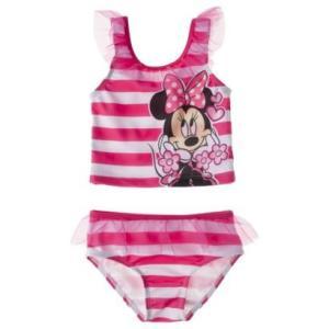 子供 水着 女の子 上下セット Disney ミニーちゃん ボーダー セパレート ビキニ 水着 女の子 インポート ピンク ディズニー プリンセス|richsmile