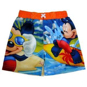 水着 子供 男の子 Disney 波乗りミッキー ベビー キッズ スイムウェア インポート |richsmile