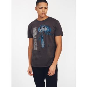ジャンクフード マイケル・ジャクソン ハット Tシャツ ブラックウォッシュ JUNKFOOD Michael Jackson  メンズ レディース MJ ダンシング|richsmile