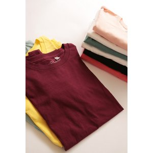 無地 Tシャツ 100% コットン Brentwood Sportswear メンズ レディース ユニセックス brentwood ハリラン シンプル|richsmile