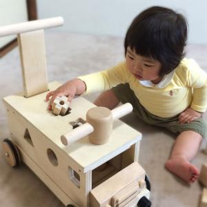 木製 手押し車 乗用玩具 きこりのおもちゃ つみきバス 木のおもちゃ 送料無料|richsmile|04
