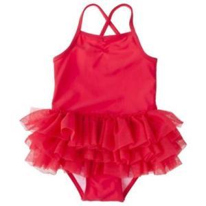 子供 水着 女の子 ワンピース ciRco コーラル チュチュ ワンピース 4T/4歳 インポート ピンク|richsmile