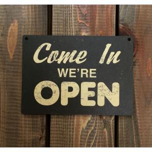 アメリカン雑貨 ヴィンテージ風 MDF 看板 ウッドサイン OPEN オープン|richsmile