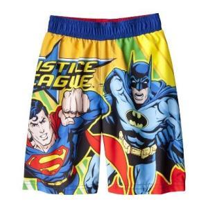 水着 子供 男の子 JUSTICE LEAGUE 3 ヒーローズ スーパーマン バッドマン マーベル キッズ アメコミ ヒーロー キャラクター|richsmile