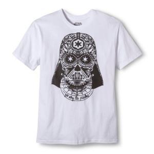 スターウォーズ メキシカンスカル ダースベーダー メンズ Tシャツ ホワイト レア |richsmile