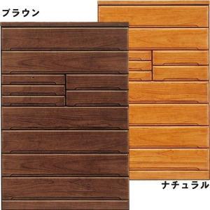 チェスト タンス タワーチェスト 木製 幅120 桐 ランジェリーボックス付き モダン 北欧 完成品 国産|rick-store