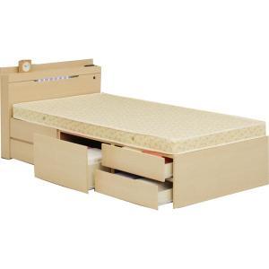 ベッド シングル フレームのみ シングルベッド 収納 引き出...
