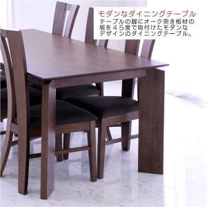 ダイニングテーブルセット 6人掛け 7点 大判 幅180cm 北欧 オーク材 ハイバックチェア 人気 rick-store 05