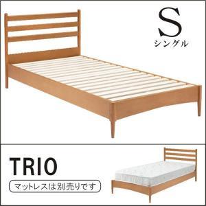 ベッド シングル フレームのみ シングルベッド レッドオーク材 シンプル 北欧 モダン|rick-store