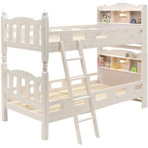 2段ベッド 二段ベッド 子供用 宮付き|rick-store