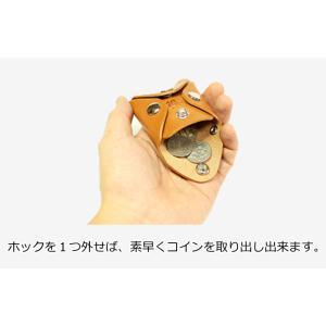 コインケース  小銭入れ コンパクト リッキーズ  小銭 コイン ケース レザー 本革 栃木レザー r220|rickys|10