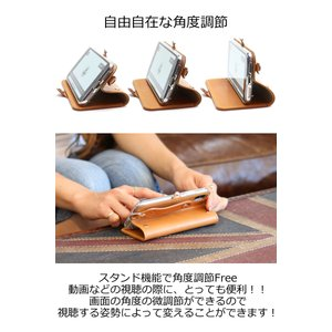 Xperia 1 手帳型 レザー ケース MSカードケース 仕様 -EFGS- リッキーズ アイフォン レザー 本革 栃木レザー R154|rickys|08