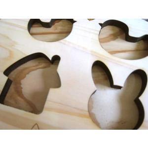 ヒノキのブロックと名前入りキーホルダーセット  木のおもちゃ 木製パズル 知育玩具|ricordo|02