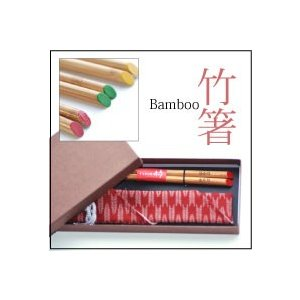 送料無料 名前入り 竹箸と布箸袋セット 専用ギフトボックス入り|ricordo