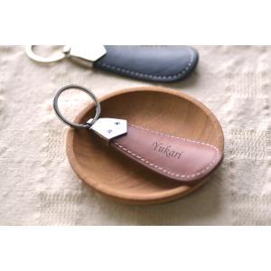 名入れ牛革 携帯用靴べら無料ラッピングあり 名入れ刻印無料サービスあり|ricordo
