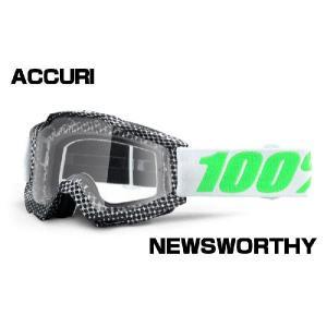 100% ACCURI MXゴーグル【NEWSWORTHY】 【アキュリ オフロードゴーグル】【15fa】|ridestyle