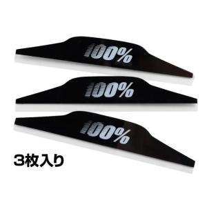 100% ゴーグル用 マッドフラップ【100%ゴーグル ロールオフシステム用リペアパーツ】|ridestyle