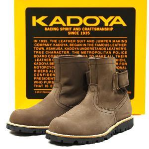 KADOYA #4315 カジュアルブーツ EGブラウン【カドヤ EG-BROWN】|ridestyle