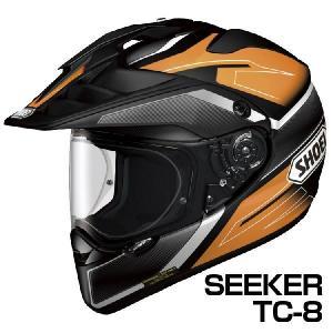 SHOEI HORNET-ADV ヘルメット SEEKER 【TC-8オレンジ×ブラック】【ショウエイ バイク用 オフロードヘルメット ショーエイ ホーネットADV シーカー】【smtb-k】|ridestyle