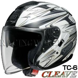 SHOEI J-Cruise ヘルメット CLEAVE【TC-6 ホワイト×グレー】【ショウエイ バイク用 ジェットヘルメット ショーエイ Jクルーズ クリーブ】【smtb-k】|ridestyle