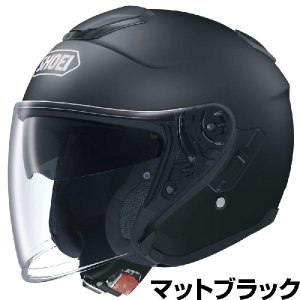 SHOEI J-CRUISE ヘルメット【マットブラック(つや消しカラー)】【ショウエイ バイク用 ジェットヘルメット ショーエイ】【smtb-k】 ridestyle