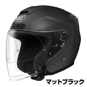SHOEI J-FORCE4 ヘルメット 【マットブラック(つや消しカラー)】【ショウエイ バイク用 ジェットヘルメット Jフォース4 ショーエイ】【smtb-k】|ridestyle