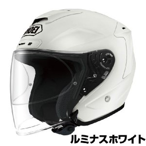 SHOEI J-FORCE4 ヘルメット 【ルミナスホワイト】【ショウエイ バイク用 ジェットヘルメット Jフォース4 ショーエイ】【smtb-k】|ridestyle