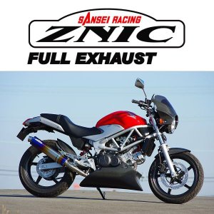ZNIC #0-22-ZFT1212J チタンサイレンサーフルエキゾースト 政府認証(JMCA) VTR250('09-)【ジニック】|ridestyle