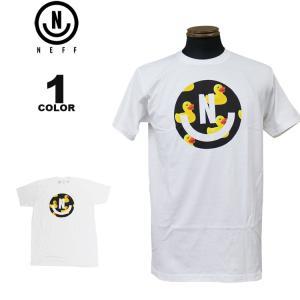ネフ NEFF Tシャツ SMILEY S/S T-SHIRTS 半袖 TEE メンズ レディース ホワイト 白 S-XL|rifflepage