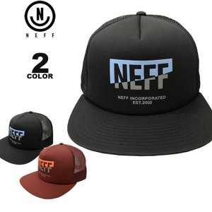 e9135603a46f6 ネフ NEFF 帽子 CORPO SPLIT TRUCKER MESH CAP メッシュ キャップ メンズ レディース スナップバック 全2色