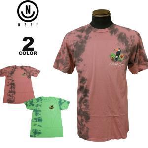 ネフ NEFF Tシャツ TOUCAN WASH S/S T-SHIRTS 半袖 TEE メンズ レディース 全2色 S-XL|rifflepage
