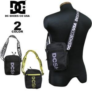 ディーシー シューズ DC SHOES ショルダーポーチ 19 VERTICALLY MINI SHOULDER POACH メンズ レディース バッグ 全2色|rifflepage