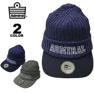 アドミラル ゴルフ ニューエラー Admiral GOLF NEWERA KNIT CAP 帽子 キャップ メンズ レディース 全2色|rifflepage