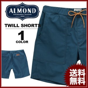 【SALE】 Almond Surfboards & Design TREKKER TWILL SHORTS (アーモンドサーフボードデザイン ショーツ 短パン ハーフパンツ) rifflepage