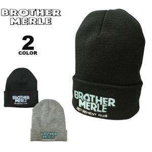 ブラザーマール ビーニー ニット帽 BROTHER MERLE Norm in Hawaii KNIT CAP BEANIE ニットキャップ 帽子 メンズ レディース ユニセックス 全2色 フリーサイズ ブ|rifflepage