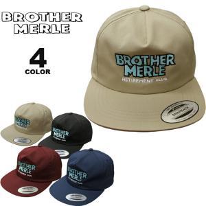 ブラザーマール キャップ BROTHER MERLE Norm in Hawaii 5 Panel CAP キャップ 帽子 ハット メンズ レディース ユニセックス 全4色 フリーサイズ ブラザーマーレ|rifflepage