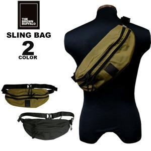 ザ・ブラウン バッファロー THE BROWN BUFFALO ボディバッグ BEYONDSLING BODY BAG スリングバック メンズ レディース 全2色|rifflepage