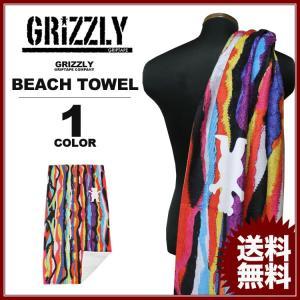 グリズリー GRIZZLY キャップ ビーチタオル FELIPE BEACH TOWEL タオル マルチカラー メンズ レディース|rifflepage