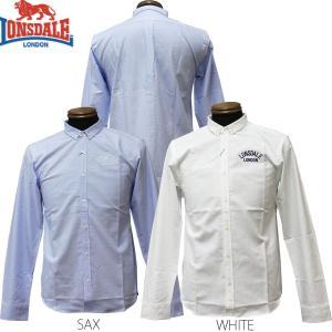 LONSDALE OXFORD L/S SHIRTS(ロンズデール 長袖シャツ)セール SALE|rifflepage