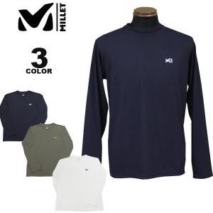 【SALE】 MILLET ミレー Tシャツ M-SCAPE L/S T-SHIRTS 長袖 ロンティ TEE 全3色 メンズ|rifflepage