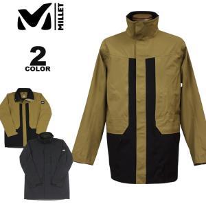 【SALE】 ミレー ジャケット コート MILLET TYPHON 50000 WARM STRETCH PARKA JACKET 全2色 メンズ|rifflepage