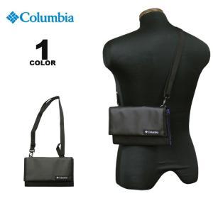 コロンビア スポーツウェア Columbia ウォレット STAR RANGE SHOULDER WALLET ショルダーバック 財布 スターレンジ ブラック 黒 メンズ レディース|rifflepage