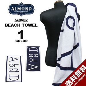 アーモンドサーフボードデザイン Almond Surfboards & Design ALMOND BEACH TOWEL ビーチタオル メンズ レディース|rifflepage